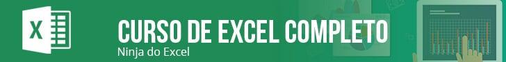 Curso de Excel Completo Ninja do Excel