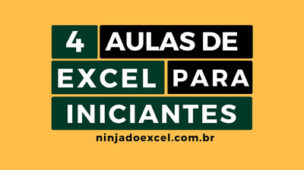 4 Aulas de Excel para iniciantes
