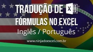Tradução de fórmulas no excel ingles portugues
