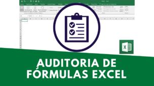 AUDITORIA DE FÓRMULAS NO EXCEL