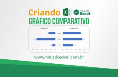 Gráfico Comparativo no Excel – Passo a Passo