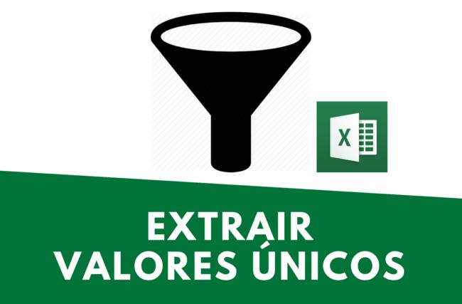 2 Formas de Extrair Valores Únicos de uma Planilha no Excel