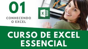Curso de Excel - Aula 01 - curso excel online 2016