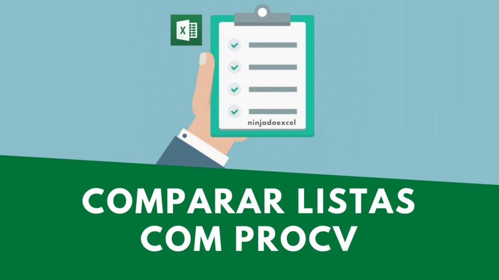Comparar listas Excel PROCV Excel