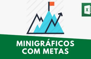 Minigráfico com Meta X Realizado | Aula Prática