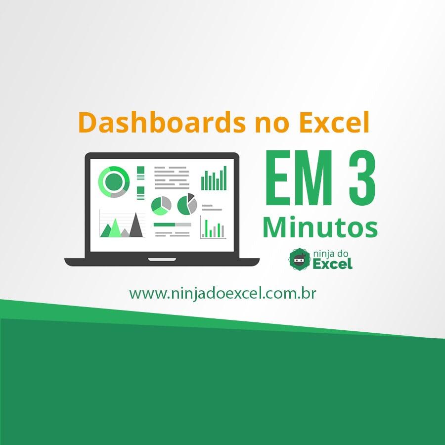 capa-dashboards-no-excel-em-3-minutos - Ninja do Excel