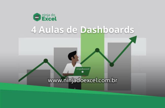 Curso de Dashboards – 4 aulas imperdíveis para aprender Dashboards no Excel