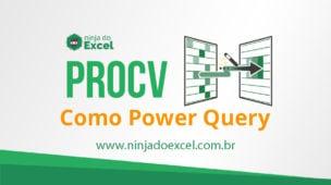 Fazendo procv com power query
