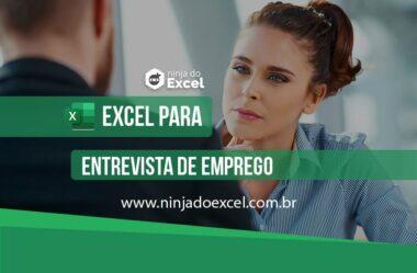 Funções no Excel para Entrevista de Emprego