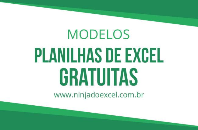 Modelos de Planilhas Grátis