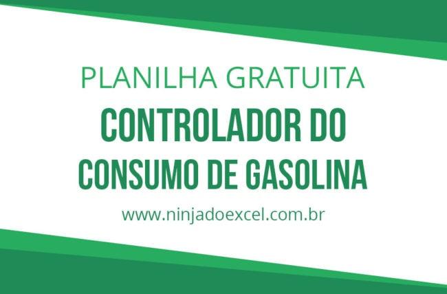 Modelo de Planilha – Controlador do consumo de gasolina