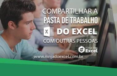 Compartilhar a pasta de trabalho do Excel com outras pessoas