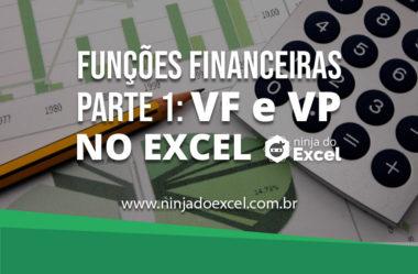 Como fazer funções financeiras no Excel parte I