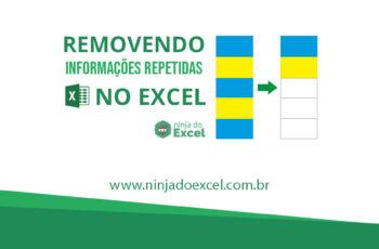 Removendo informações repetidas no Excel