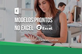 Modelos prontos no Excel