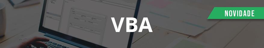 Curso Online Excel VBA - Aprenda o Recurso de forma Completa