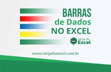Barras de dados no Excel