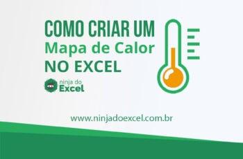 Como criar um mapa de calor no Excel