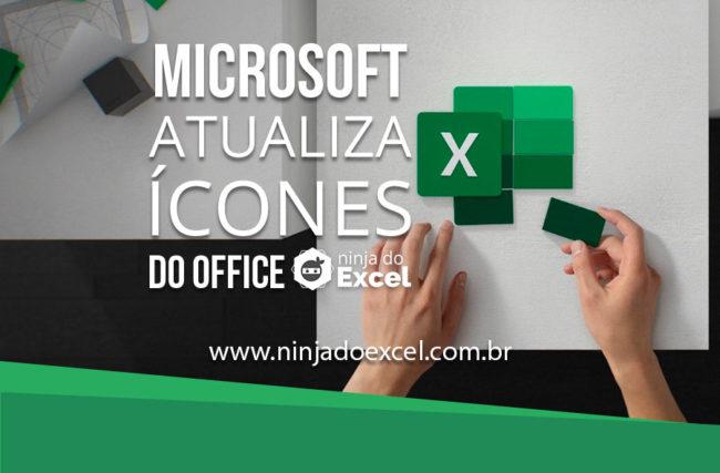 Microsoft atualiza ícones do Office