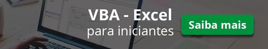 Curso VBA Excel online Ninja do Excel