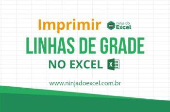 Como Imprimir Linhas de Grade no Excel