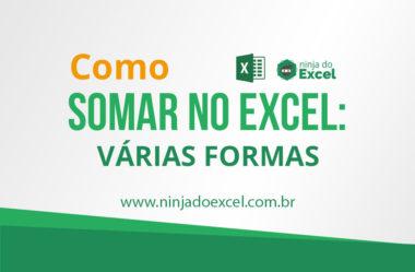 Somar no Excel