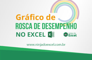 Gráfico de rosca de desempenho no Excel