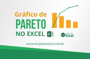 Aprenda como fazer Gráfico Pareto no Excel