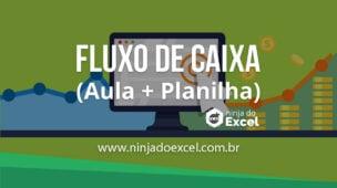 planilha fluxo de caixa-Excel