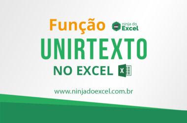 Função UNIRTEXTO no Excel (=UNIRTEXTO)