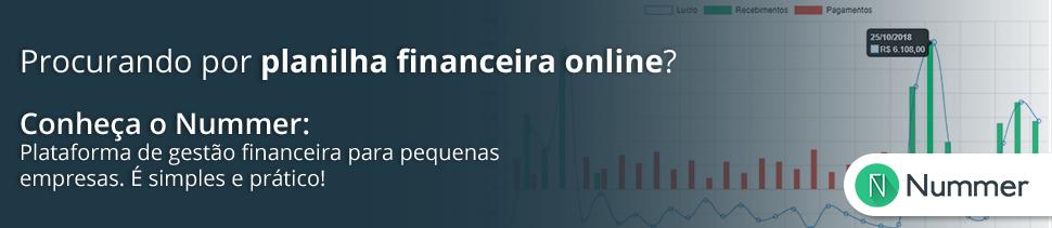 sistema de gestão financeira