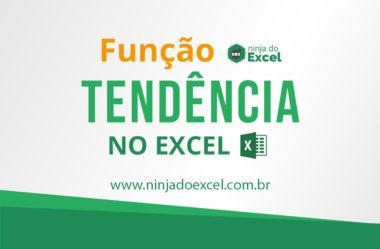 Função Tendência no Excel (=tendência). Faça suas projeções!