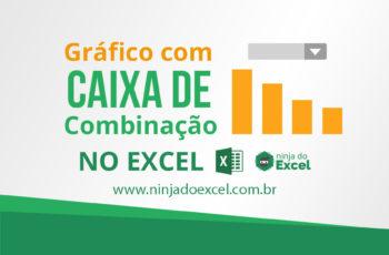 Gráfico com caixa de combinação no Excel