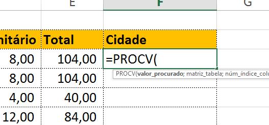 Abrindo função PROCV em textos aleatórios no Excel