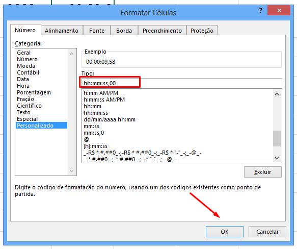 Configurando Formatar Células para milésimos no Excel