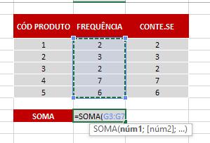 Prova 2 PARTE 2 de Função FREQUÊNCIA no Excel