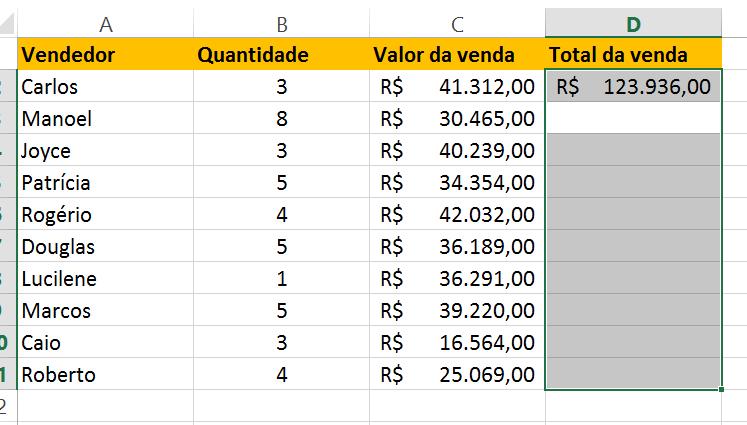 Resultado não satisfatório da Função matricial no Excel