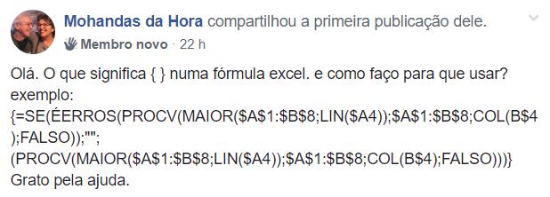 duvida formula matricial