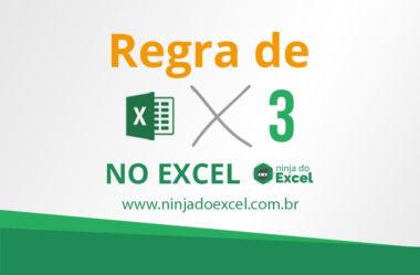 Como fazer regra de 3 no Excel