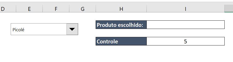 Controle para Caixa de listagem com múltipla escolha no Excel