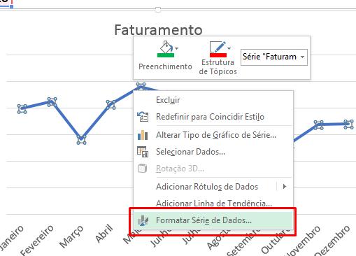 Formatar série de dados para arredondar a linha dos gráfico