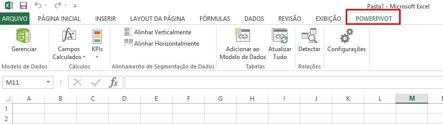Guia ativar o Power Pivot no Excel