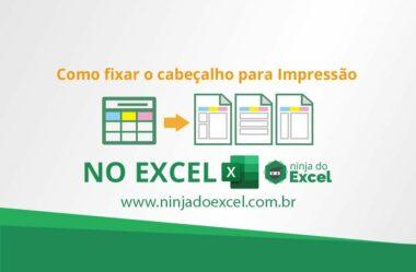 Fixar cabeçalho no Excel