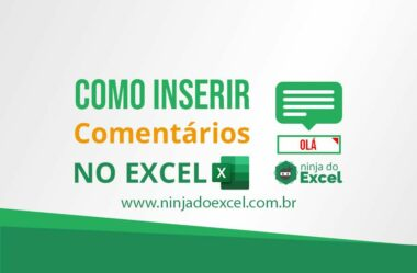 Como inserir comentário no Excel