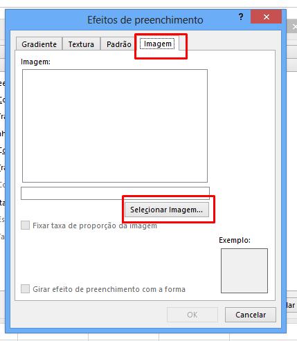 Selecionar imagem em um Comentário no Excel