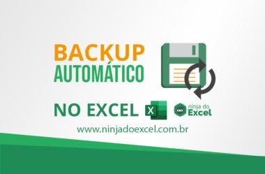 Como Criar um Backup Automático no Excel – Nunca mais perca nada