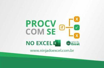 PROCV com SE no Excel