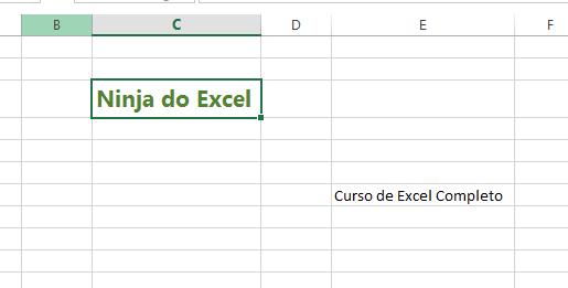 Texto formatado para Pincel de Formatação no Excel