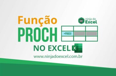 Função PROCH no Excel
