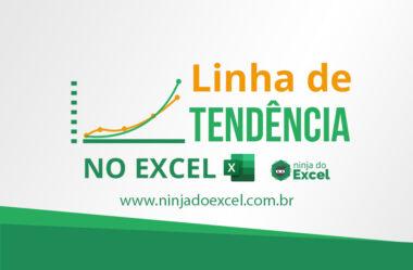 Melhores seus projetos usando Linha de Tendência no Excel